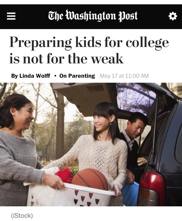 Preparing Your Kids For College Is Not A Feat For The Faint Of Heart