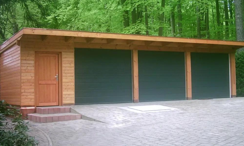 Holzgarage Holzgaragen Als Individueller Bausatz