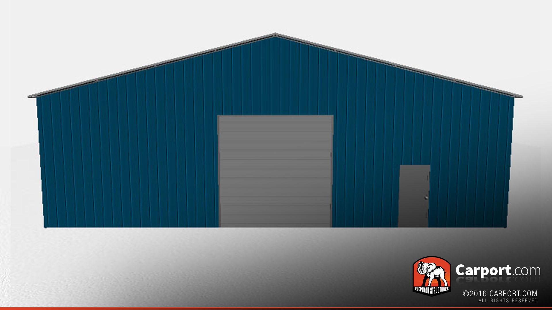 Commercial Metal Garage 50 X 100 X 14 Shop Metal