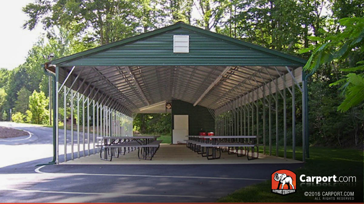 Outdoor Metal Pavilions Amp Picnic Shelters For Sale