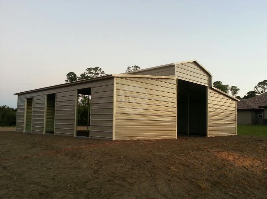 36x36 A Frame Carolina Amp Horse Barns For Sale