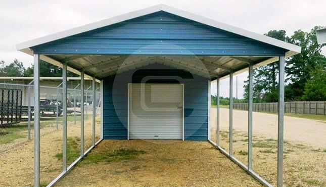 18x31 Utility Carport A Frame Roof Style Carport Building