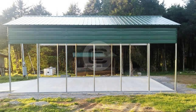 18x31 Custom Carport Carport With Side Panels
