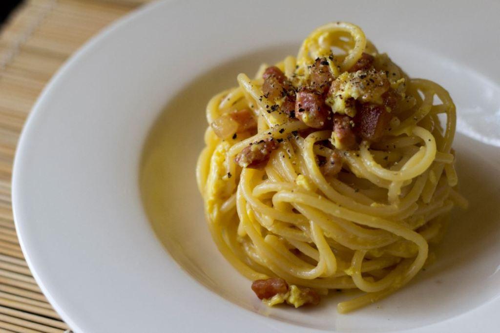 In love with Carbonara pasta
