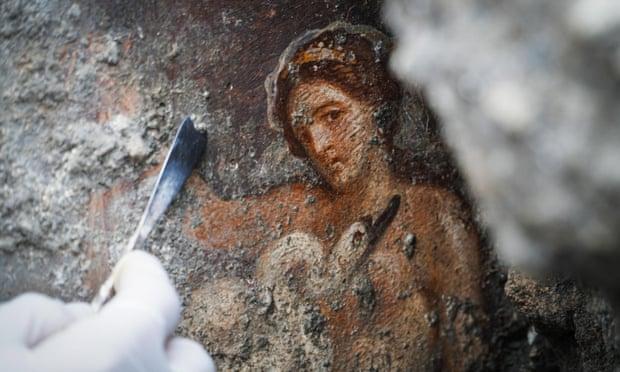 Particular of Leda, Pompeii
