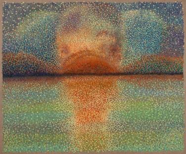 """""""Extraordinaires Mémoires Lointaines"""" / """"Extraordinary Distant Memories"""" - Huile sur toile - 110 x 124 cm -"""