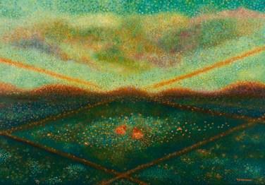 """""""Reflets Subtils"""" / """"Subtle Reflections"""" - Huile sur toile - 81 x 116 cm -"""