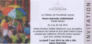 Expo au Château de l'Aumérade à Pierrefeu du Var