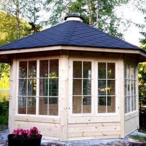 10m Garden Pavilion from Carr Bank Garden Centre