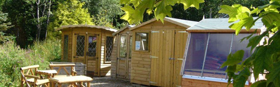 Workshed, potting shed & Cornerhouse