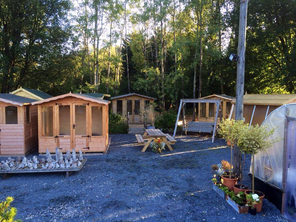 Garden buildings hot tubs in the lake district for Garden shed regulations