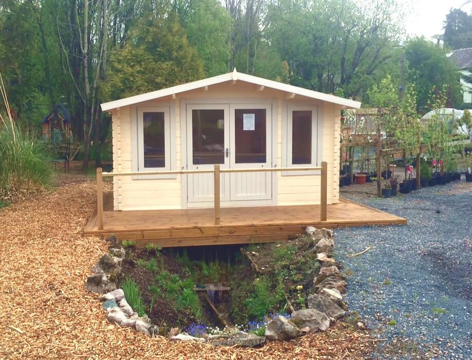 Crossley 4.2m x 3m Norwood 46mm Log Cabin