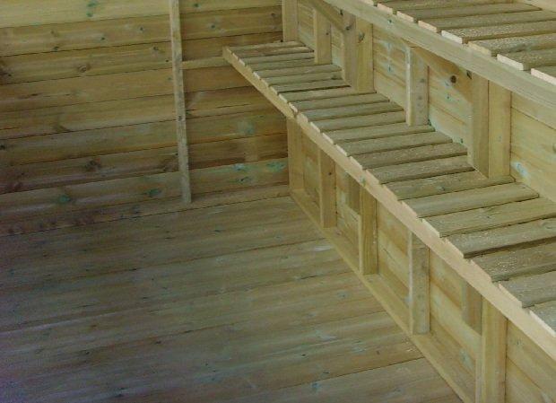 Swallow Greenhouses Combi Floor larger