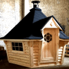 7m Sloping Wall Grill Cabin / Grill Hut