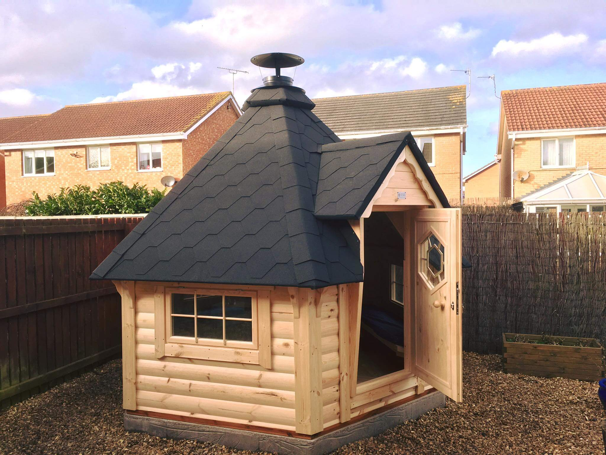 7m Grill Cabin fitted in Blyth, Northumberland