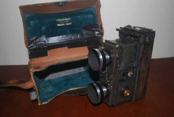 Verascope movie camera