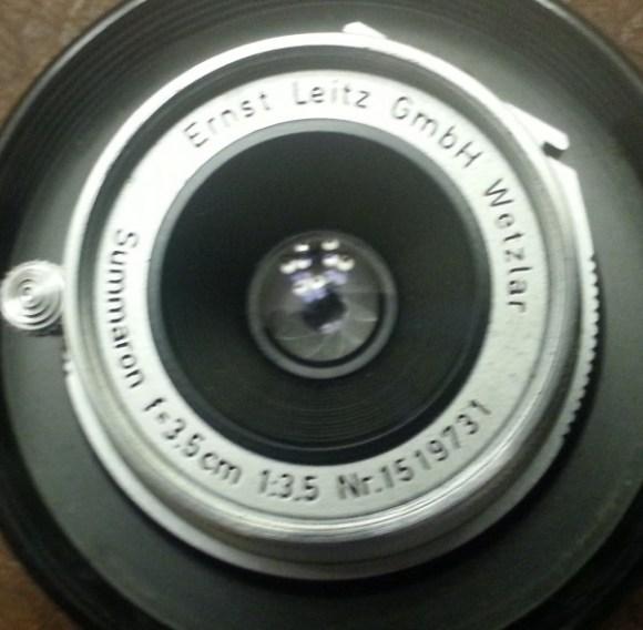 Leitz 3.5cm 1:3.5 Serial #1519731