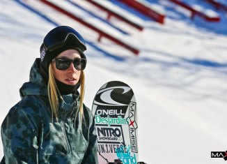 Big air: 7 questions à Laurie Blouin