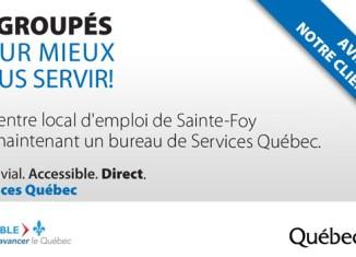 Services gouvernementaux regroupés à Ste-Foy