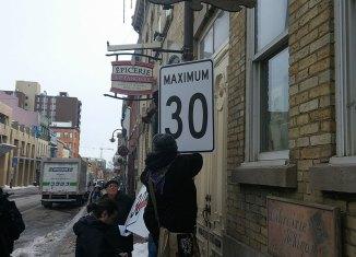 30 km/h dans le Faubourg Saint-Jean-Baptiste