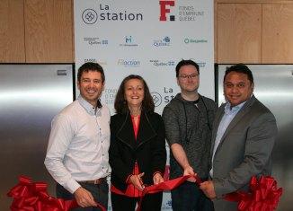 Inauguration de La Station