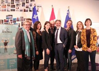 Gouvernement fédéral:4 espaces culturels soutenus à Québec