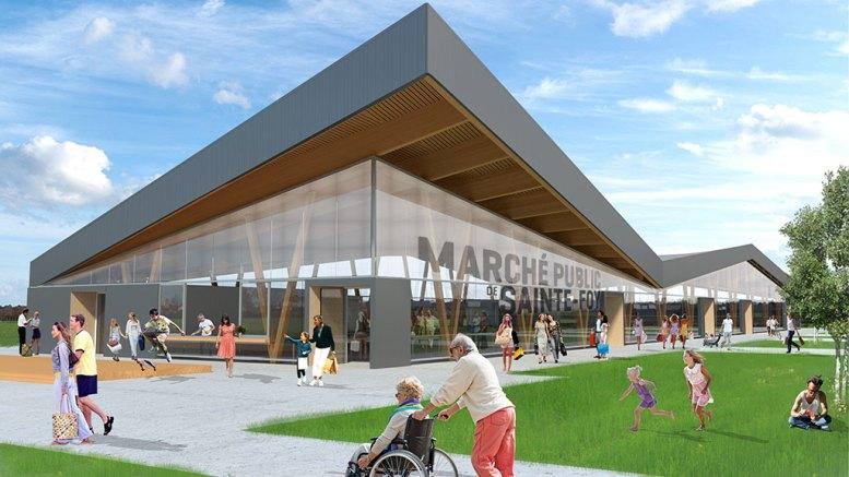 Nouvelle structure du marché public de Sainte-Foy