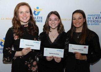 Fondation de l'athlète d'excellence: 2 boursières du Cégep de Sainte-Foy