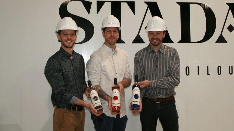 Les propriétaires de la Distillerie Stadaconé