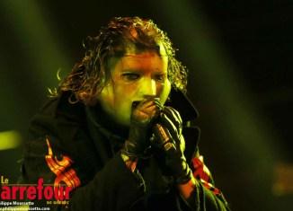 Slipknot donne son maximum à Québec sur la grande scène