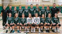 équipe féminine de Volleyball du Cégep Garneau