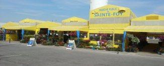 Un bel engouement à l'ouverture du Marché public de Sainte-Foy
