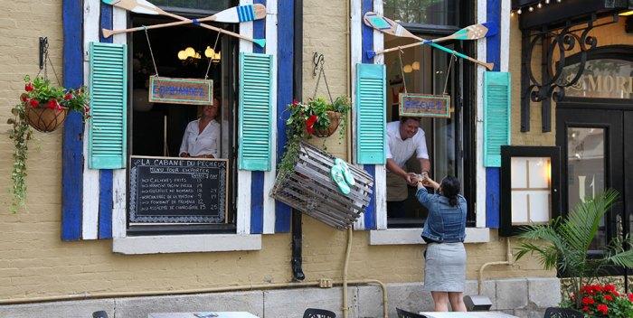 La Brasserie Les Mordus propose La Cabane du Pêcheur