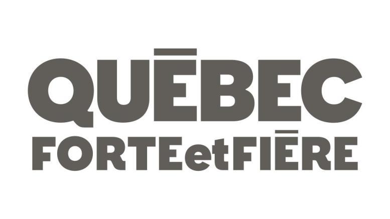 Logo du parti Québec Forte et Fière