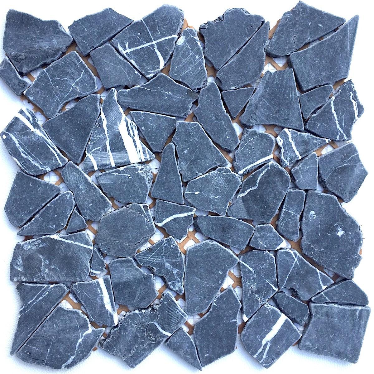 galets en pierre special sol sigma noir
