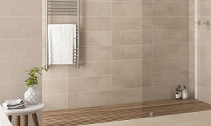 Costiles Carrelage Mural Mystone Taupe Rlv 60 X 31 6cm