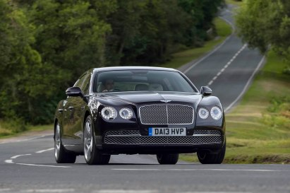 Bentley Flying Spur in action