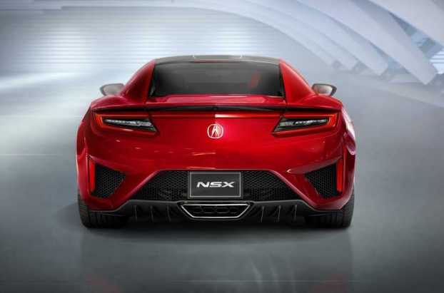 Rear view monster - the new generation Honda NSX
