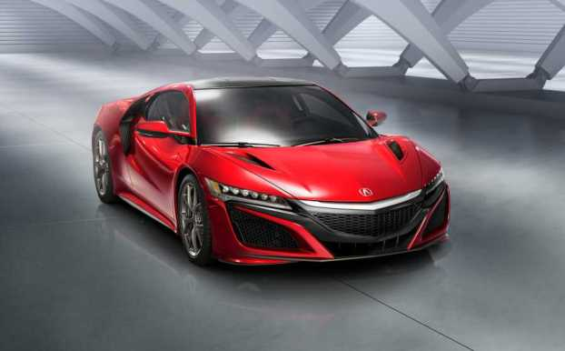 The new generation Honda NSX supercar