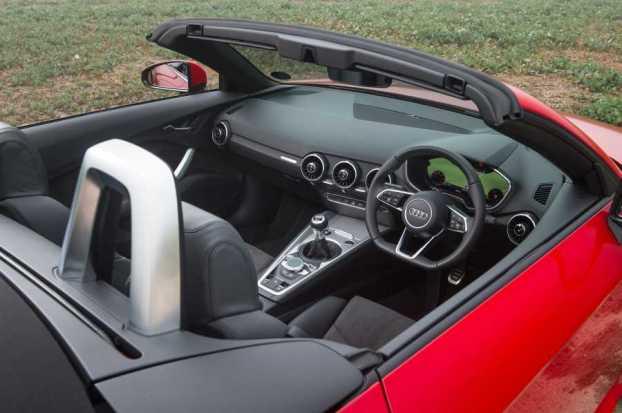 Audi TT Roadster cabin