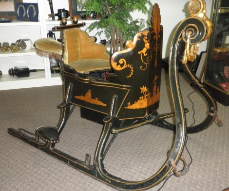 Tikker or Dutch racing sleigh at the Grand Oaks
