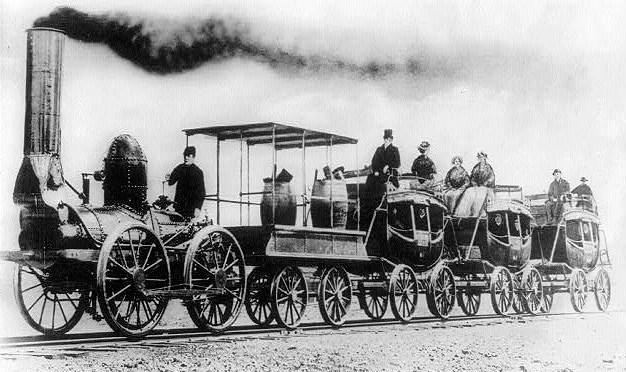 """The """"DeWitt Clinton"""" Steam Locomotive of 1831"""
