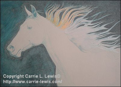 How to Draw a Dark Background with Colored Pencil - Dark Brown Layer