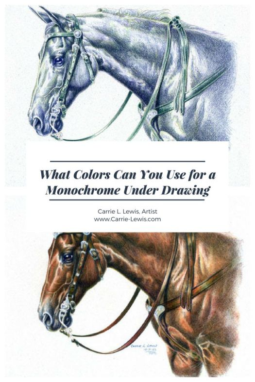 What Colors Can You Use for a Monochrome Under Drawing