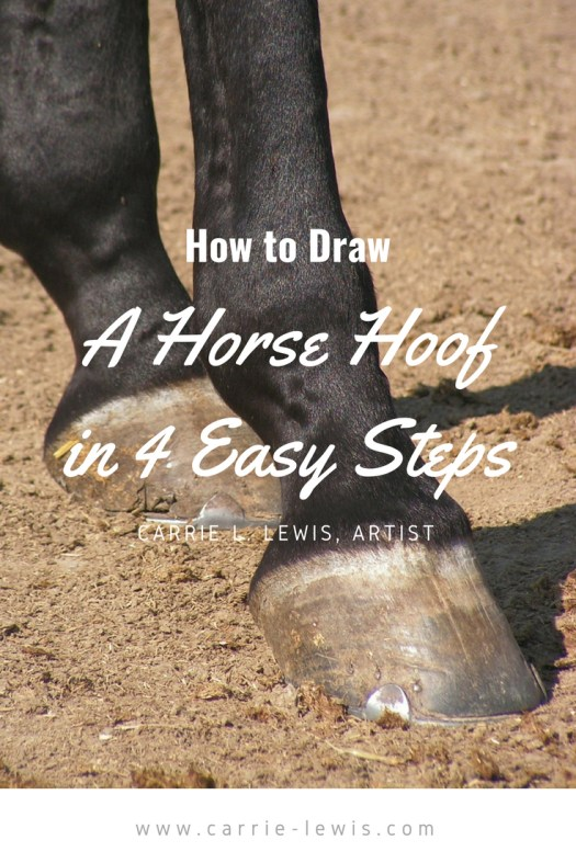 How to Draw a Horse Hoof