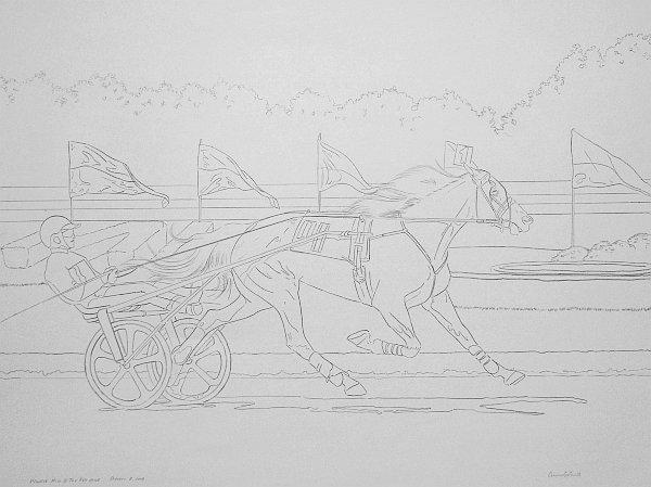 Create Large Line Drawings - Finished Line Drawing