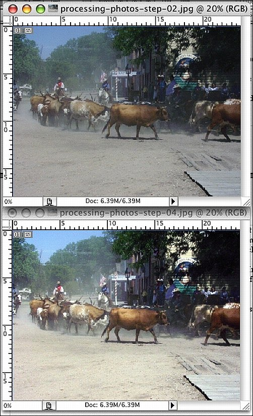 How to Process Digital Reference Photos in Photoshop Step 4b