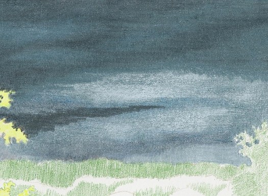 How to Draw a Stormy Sky Step 5 Detail