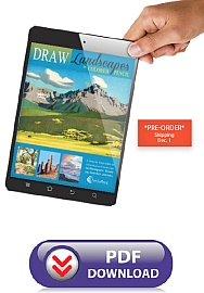 Art Instruction ebooks - DRAW Landscapes in Colored Pencil