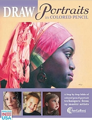 Art Instruction ebooks - Draw Portraits in Colored Pencil 188